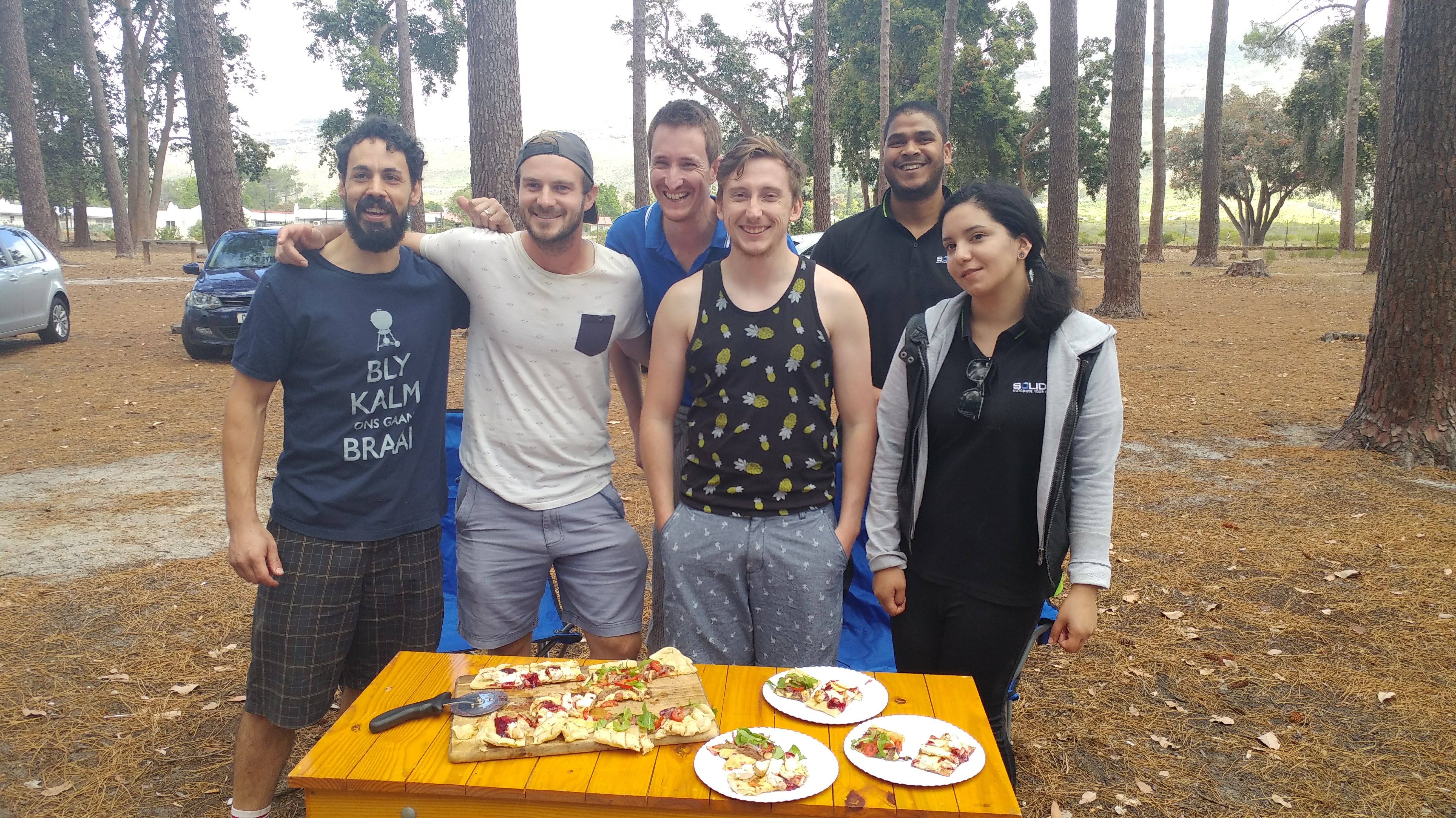 SOLIDitech braai masters - second place