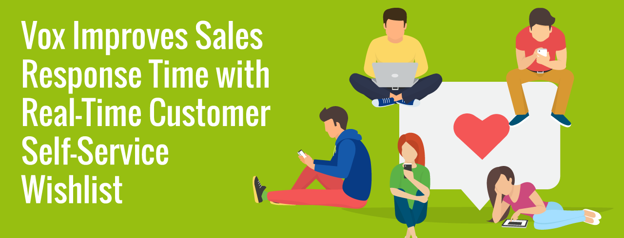 Vox Improves Sales Response Time With Real-Time Customer Self-Service Wishlist