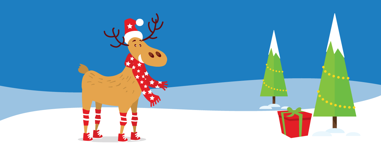 Win a Festive Takealot Voucher by Counting our Reindeer
