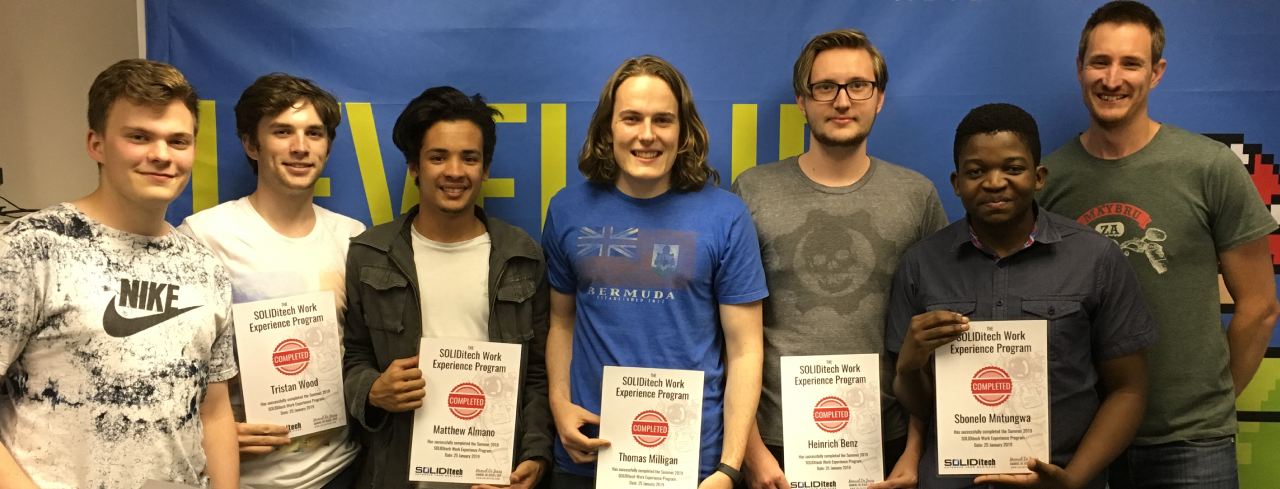 SOLIDitech Hosts Summer 2019 Work Experience Program