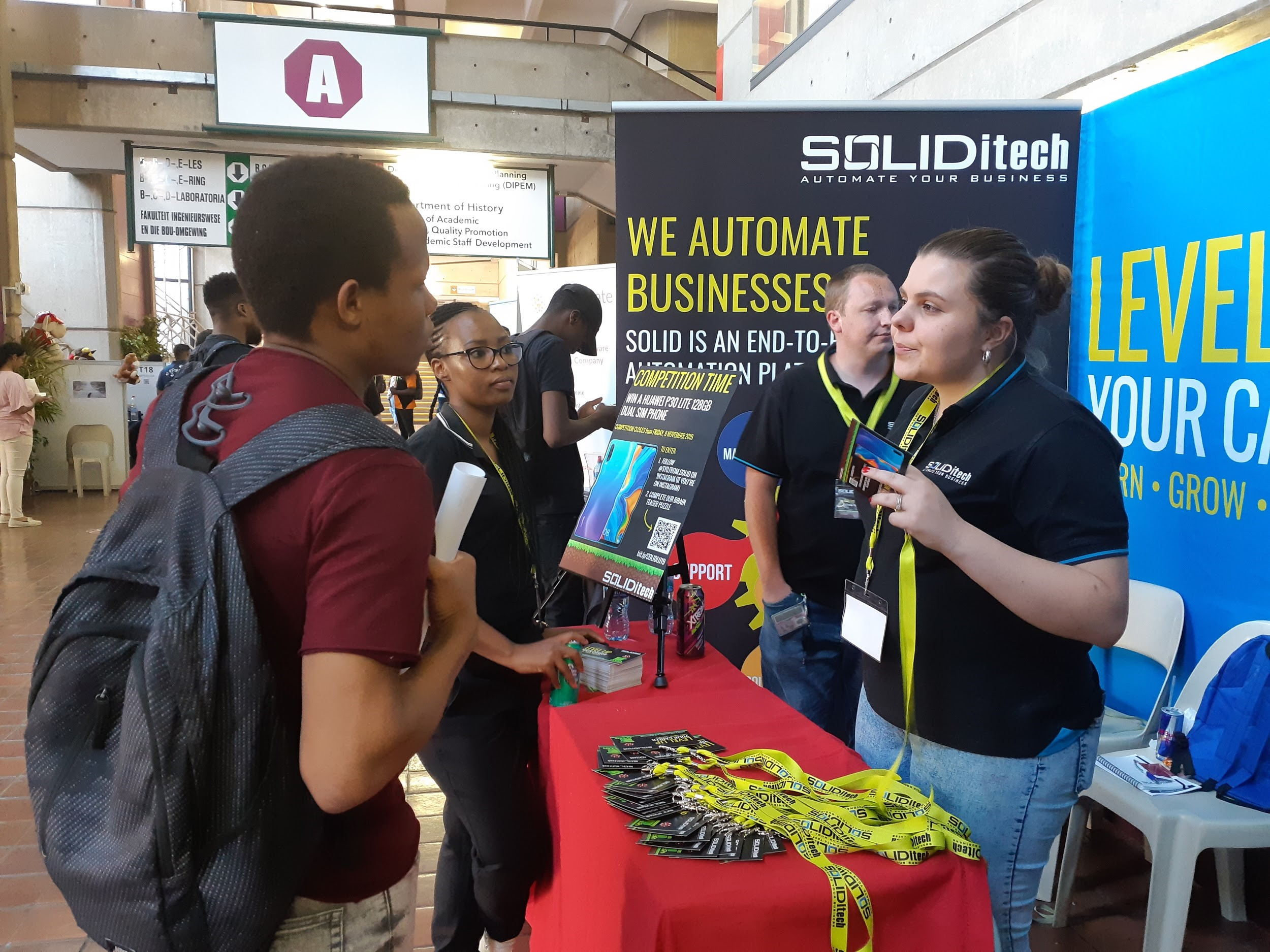 We made a SOLID statement at the University of Johannesburg's IT Projects Day